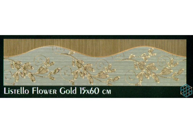 Tiffany (Listello Flower gold)
