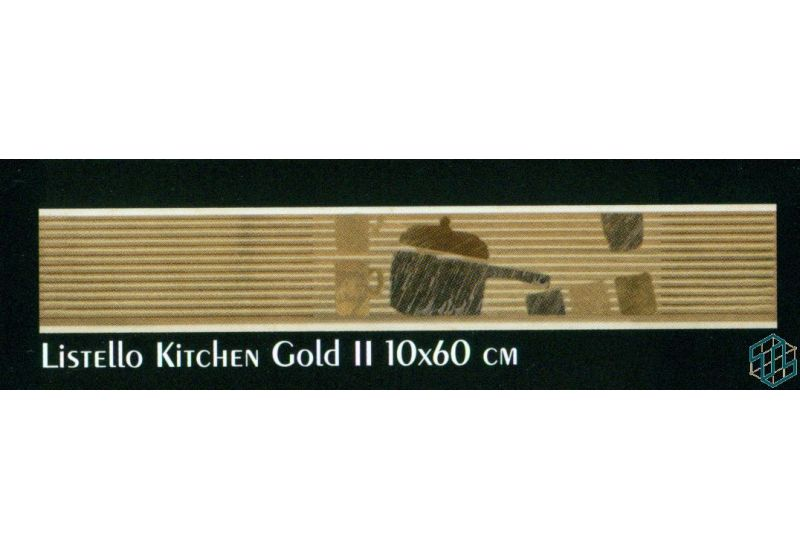 Alexandra (Listello Kitchen Gold 2 (10-60 cm)