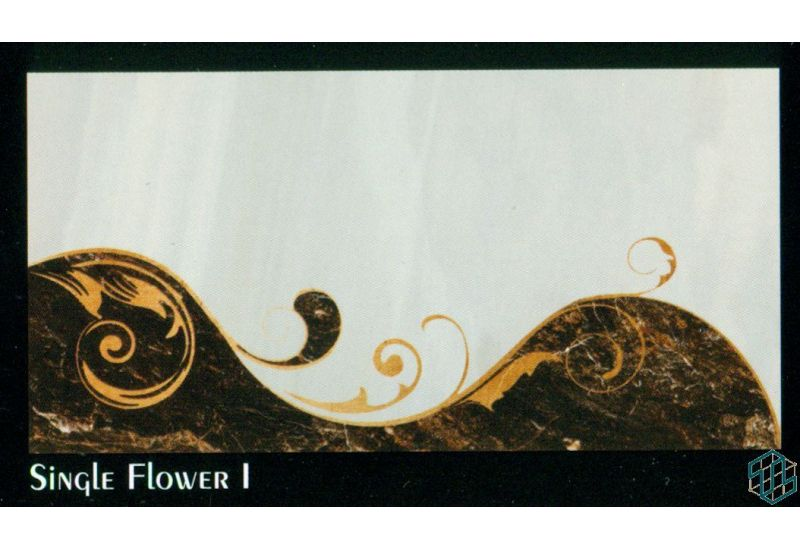 Regency (Single Flower 1) - Wall Tile
