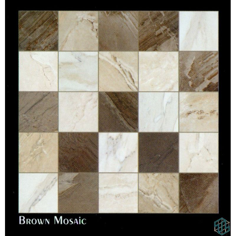 Vendome (Brown Mosaic) - Floor Tile