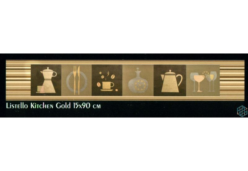Palmera Listello Kitchen Gold 15-90 cm