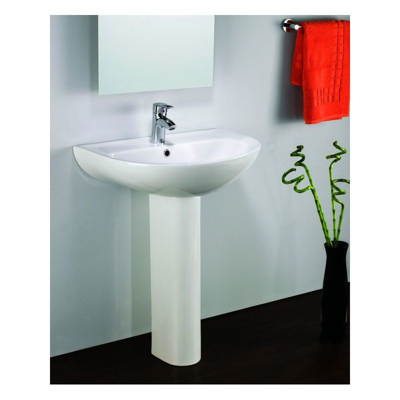 Plan Floor Pedestal Basin 65 cm