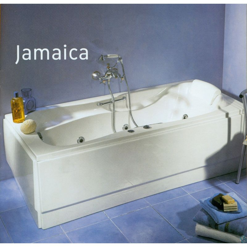 sanitary ware jamaica bathtub 180 80. Black Bedroom Furniture Sets. Home Design Ideas